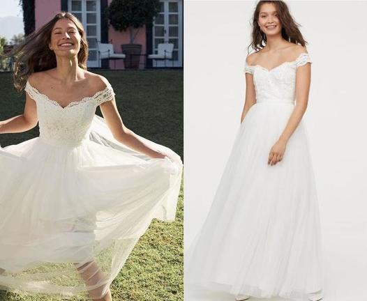 Невеста купила свадебное платье в H&M: подруги ее высмеяли, назвав выбор слишком дешевым и неудачным