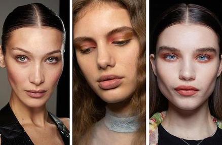 Золотой оттенок в уголках глаз: модный макияж на осень 2020 года