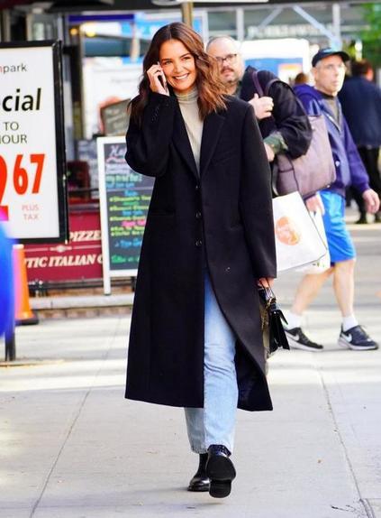 10 способов отлично выглядеть осенью, по мнению It Girls: Эмили Ратаковски, Белла Хадид, Кэти Холмс и другие знаменитые модели