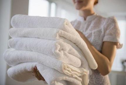 Научилась быстро отбеливать полотенца. Мне помогает смесь, в состав которой входит подсолнечное масло