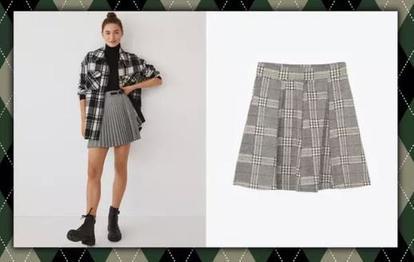Как подобрать клетчатую мини-юбку? Интересные сочетания для уверенных женщин