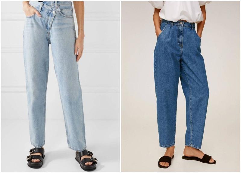 Осенняя тенденция 90-х: зауженные, с эффектом потертости и другие лучшие варианты мешковатых джинсов (фото)