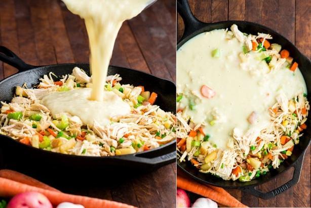 Вкусную запеканку с курицей и овощами готовлю каждые выходные: просто, вкусно и полезно