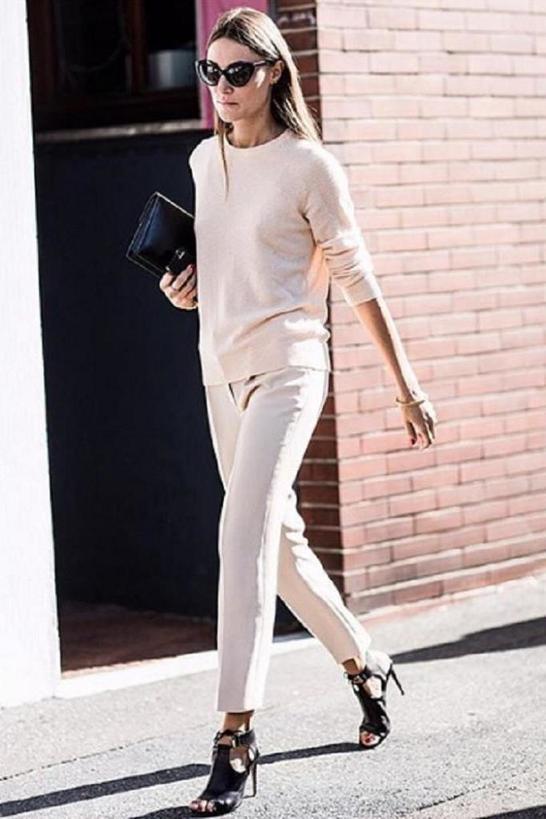 Как выглядеть выше, если вы маленького роста: однотонная одежда и другие уловки стилистов