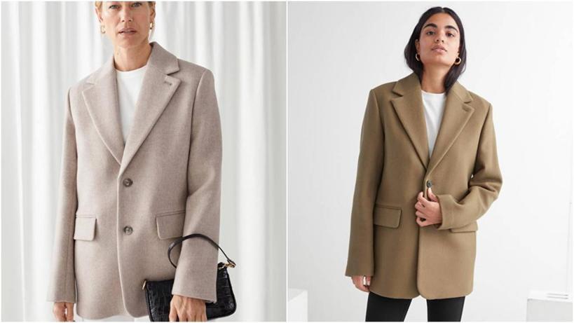 Такой комфортный, теплый и очень модный: шерстяные пиджаки ниже бедер любой расцветки нарасхват этой осенью