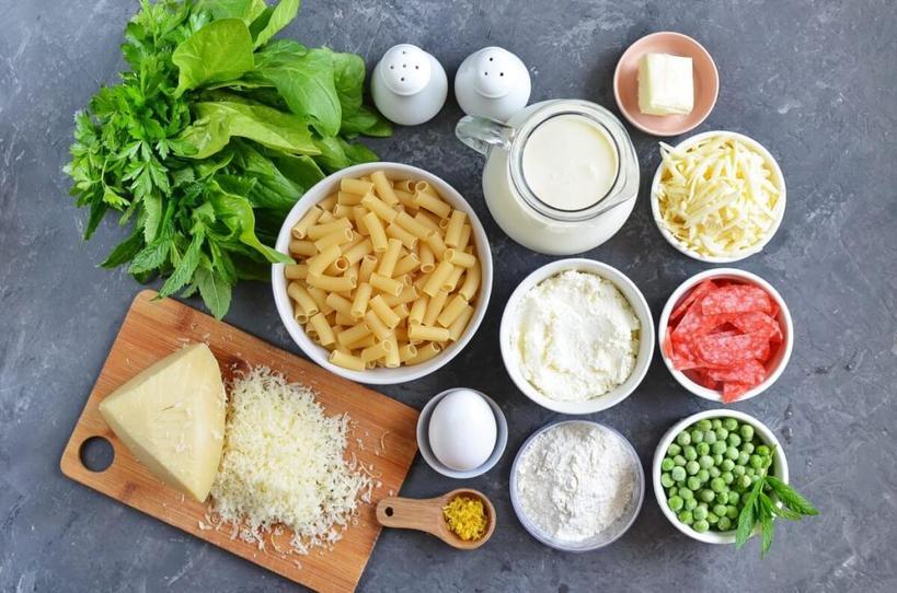 На ужин готовлю запеканку из макарон, горошка и лимонной цедры: интересное сочетание обычных продуктов