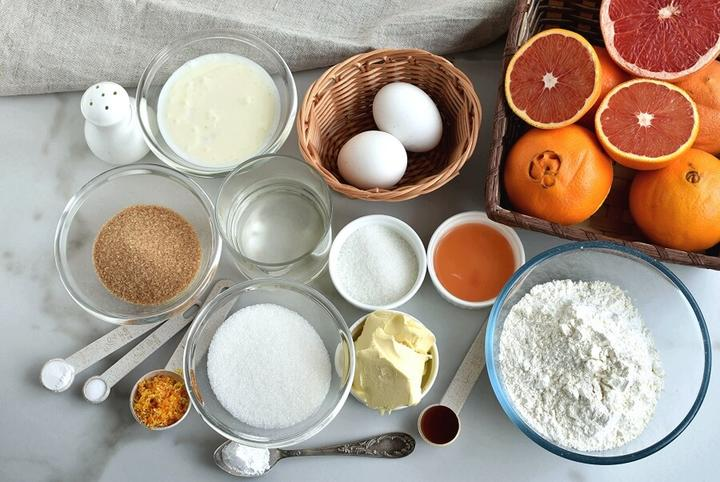По осени набираю в магазине цитрусов и пеку каждую неделю пирог перевертыш: получается красиво и иммунитет укрепляет