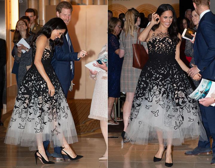 Черное платье – всегда беспроигрышный вариант: фотоподборка запоминающихся образов королевских особ