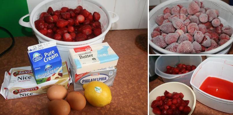Самое время для замороженной клубнички: достаю ягоду и готовлю нежнейший чизкейк, который не требует выпекания
