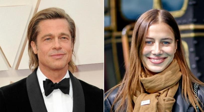 Брэд Питт снова свободен: 56 летний актер и 27 летняя немецкая модель Николь Потуральски расстались