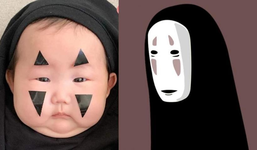 Дети покорили пользователей Сети своими костюмами, вдохновленными аниме «Унесенные призраками» (фото)