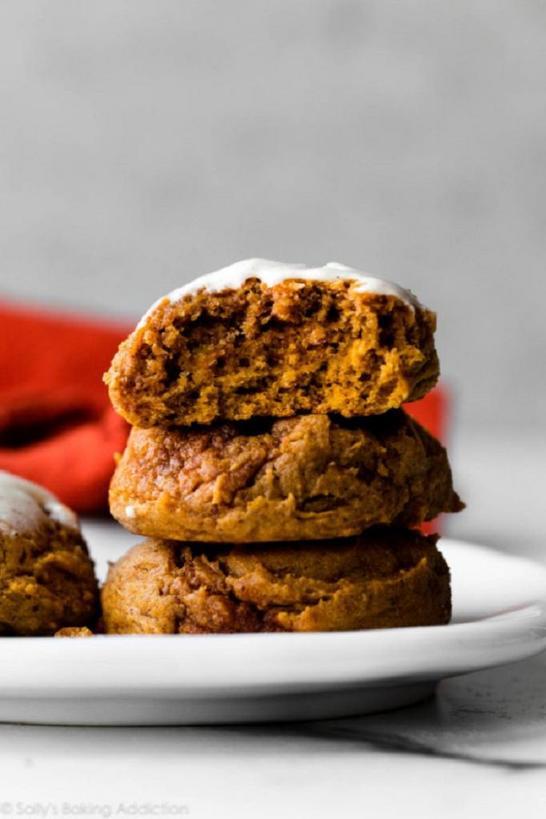 Очень мягкое тыквенное печенье: каждую осень к чаю делаю это лакомство