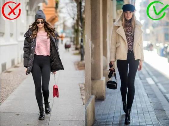 Легинсы – это не брюки: их следует носить так же, как колготки, то есть в сочетании с одеждой. Но есть исключение из правил