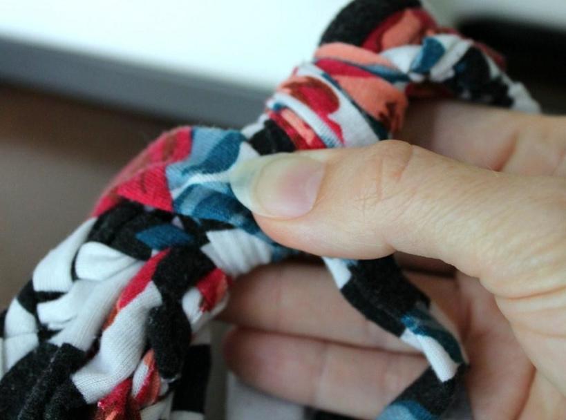 Бесконечные шарфы из футболки и макси-платья: Оригинальные новые аксессуары (пошаговые фото)