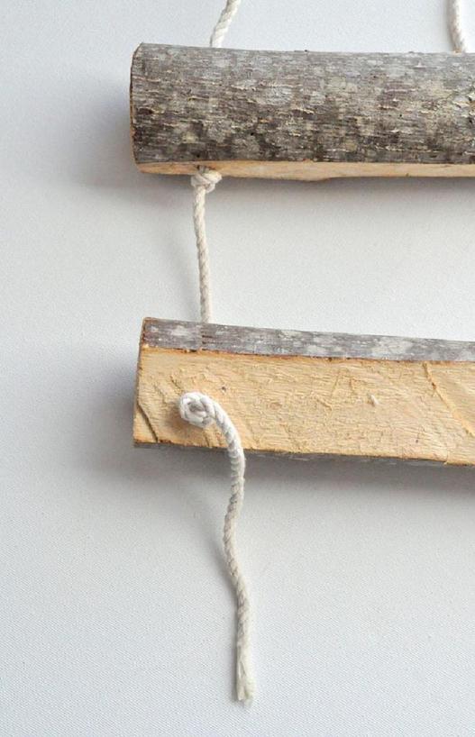 Превращаем деревянные бревна в подвесные горшки для растений: смотрится очень эффектно