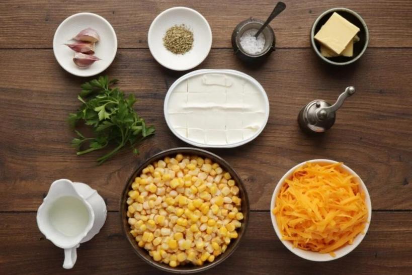 Горячий и насыщенный суп. Готовлю кукурузное первое блюдо на сливочном сыре
