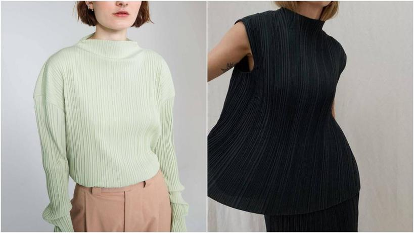 Лен, плиссе, вязаные свитера: что можно смело покупать в секонд-хенде (вещи будут смотреться всегда дорого и модно)