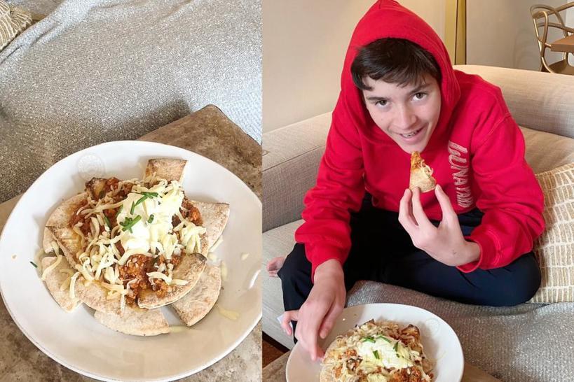 Австралийская мама бросила вызов сыну - приготовить 5 блюд за неделю