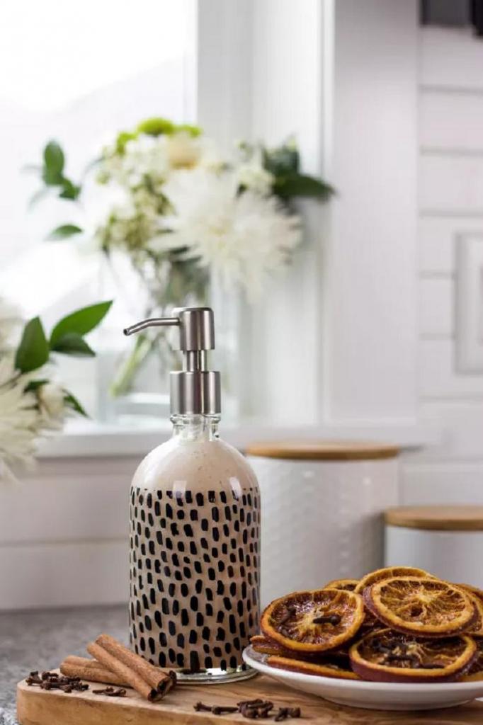 Жидкое мыло с ароматом глинтвейна делаю сама: натурально и экономично