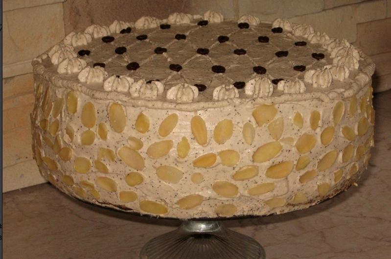 Пышный бисквитный торт