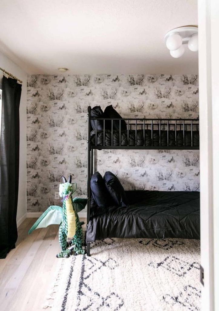 Идея эффектного интерьера для детской спальни: позвольте малышам почувствовать себя маленькими волшебниками