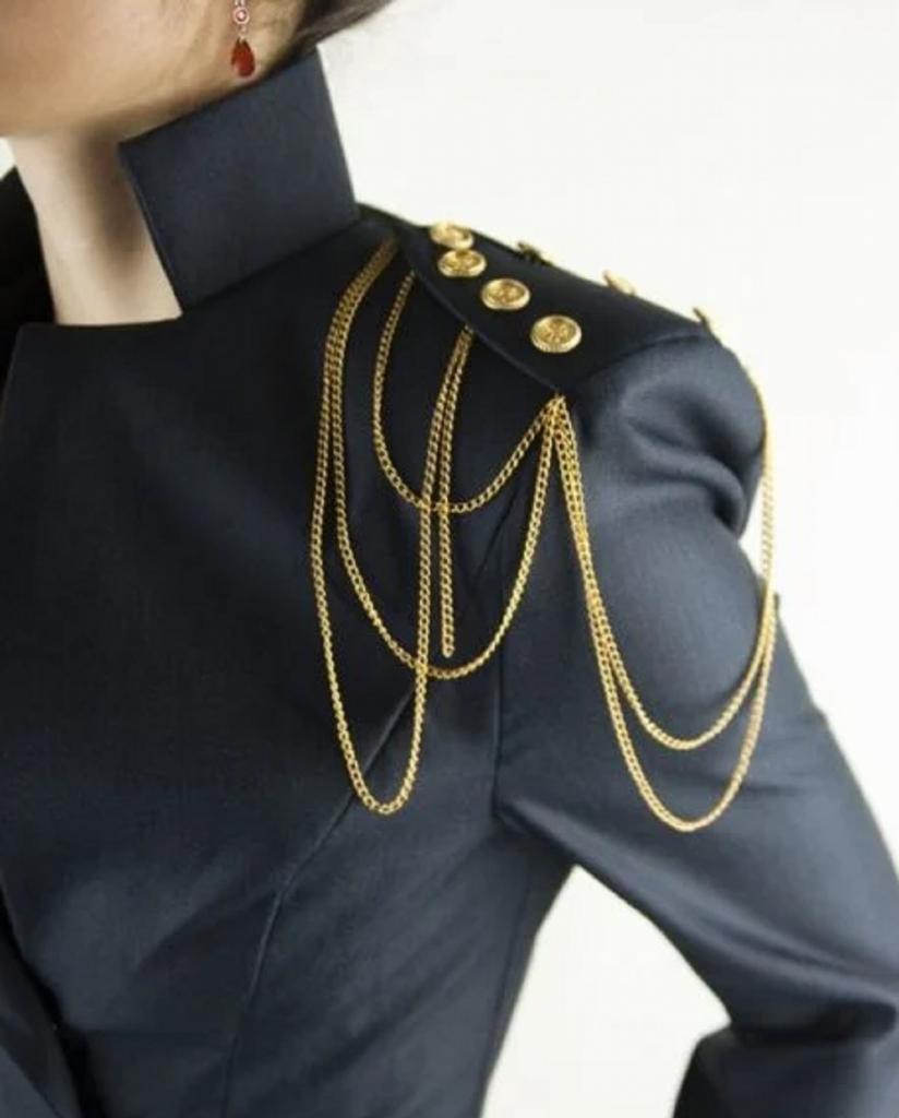 Как носить и с какой одеждой сочетать цепи   один из трендов 2021 года