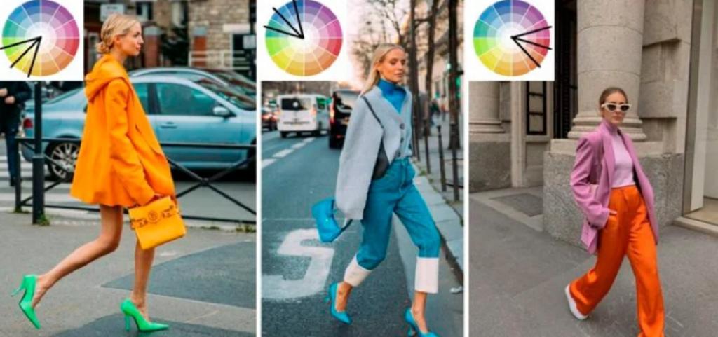 5 правил сочетания цветов для того, чтобы комбинировать яркие вещи в один образ: показываем на готовых примерах