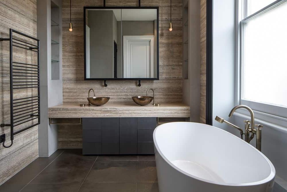 Настоящий шик в ванной комнате   две раковины: идеи оформления на любой стиль и вкус