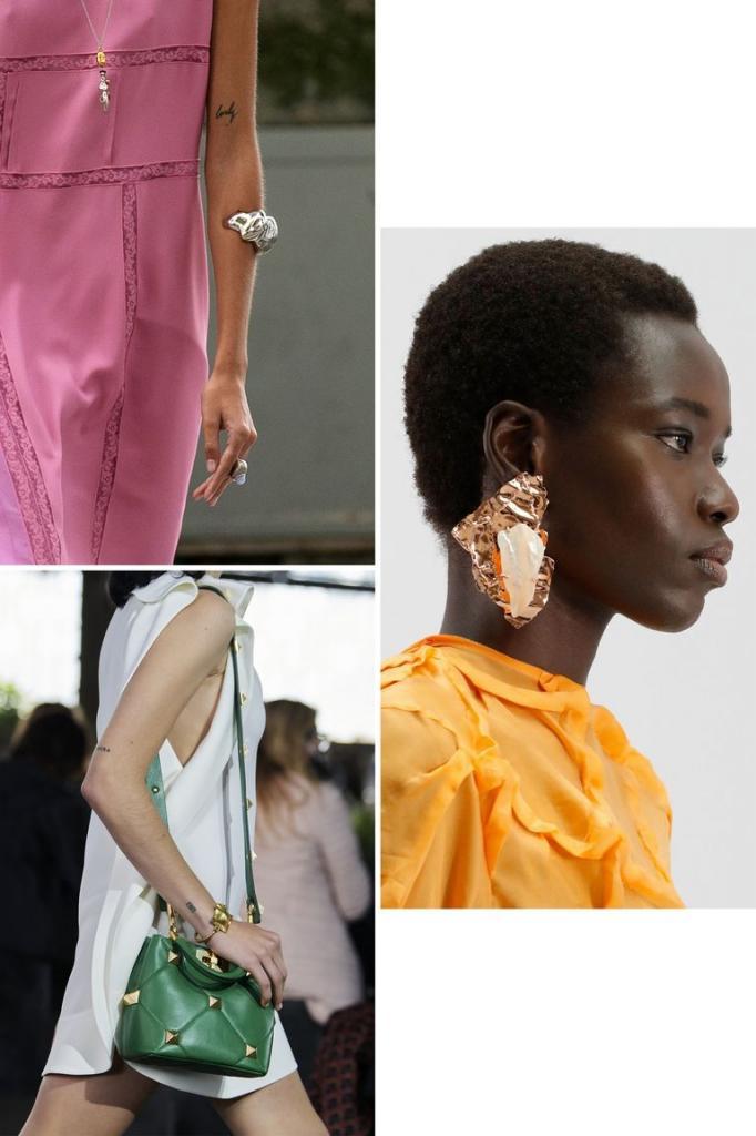 Лучшие ювелирные тенденции в 2021 году: красивые и стильные вещи с модных показов