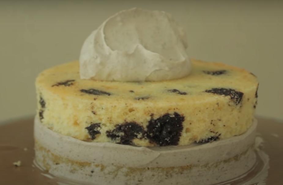 Десерт, в который можно влюбиться за один лишь вид, не говоря уже о вкусе: готовим тортик с печеньем