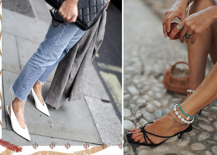 Kitten heels, или очень маленький каблук, - модный тренд 2021 года: с чем его носить и на какие модели стоит обратить внимание
