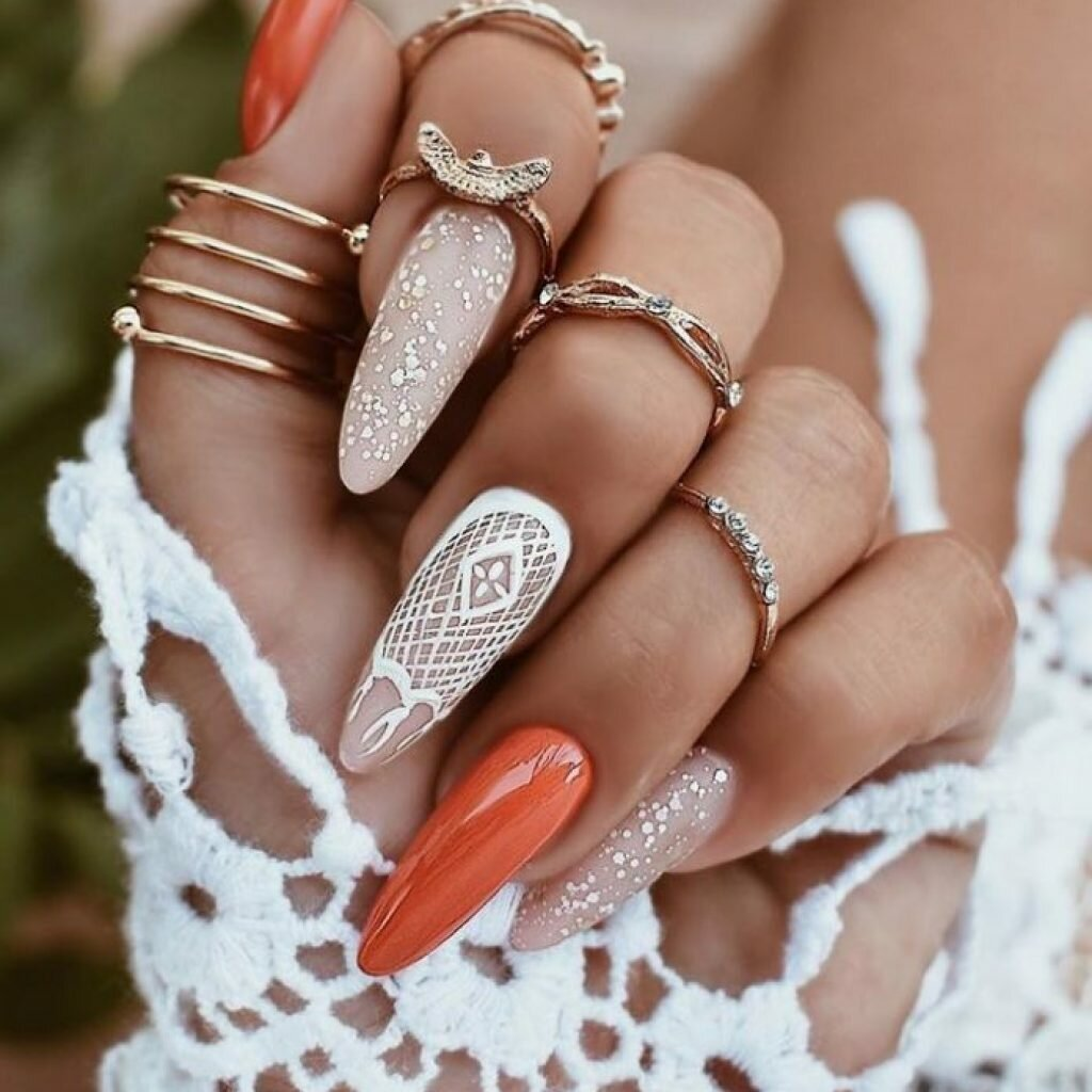 Классический монохром – это скучно: самые стильные сочетания нейл-арта, которые превратят ногти в произведение искусства