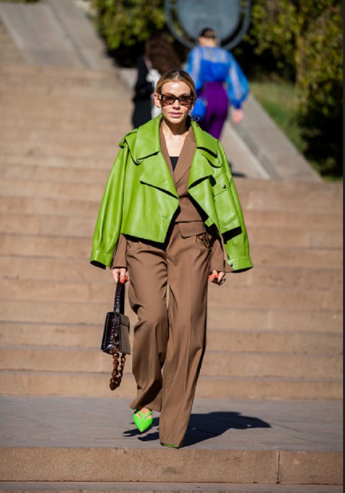 Одежда цвета лайма (и его вариаций) — яркий тренд 2021 года, в который легко влюбиться