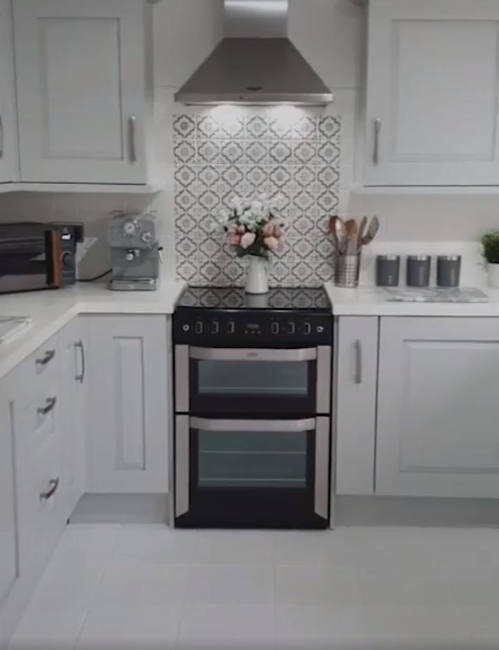 Модная кухня с минимальным бюджетом: пара банок краски изменила кухню до неузнаваемости (фото до и после)