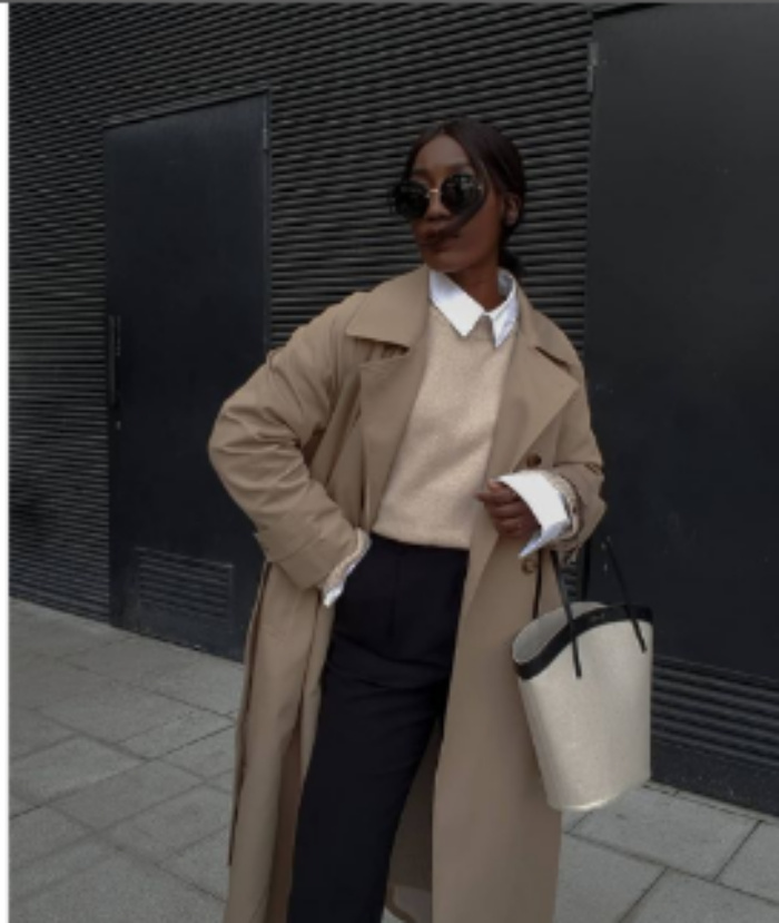 Вместо куртки: несколько способов носить классическую белую рубашку весной 2021 года