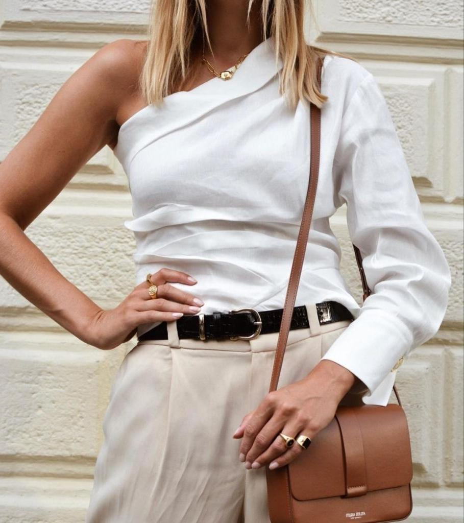 Если широкие плечи, не каждая блузка подойдет: как выбирать верх, учитывая тип фигуры