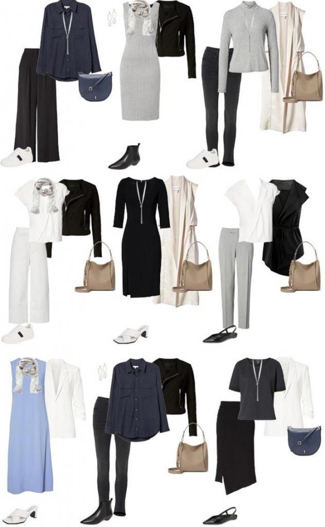 Собираем капсульный гардероб для женщин старше 40, которые предпочитают минимализм в образе