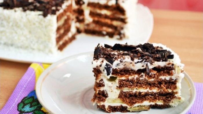 Часто готовлю для детей вкуснейший торт  Пломбир : очень быстро и совсем не нужна духовка