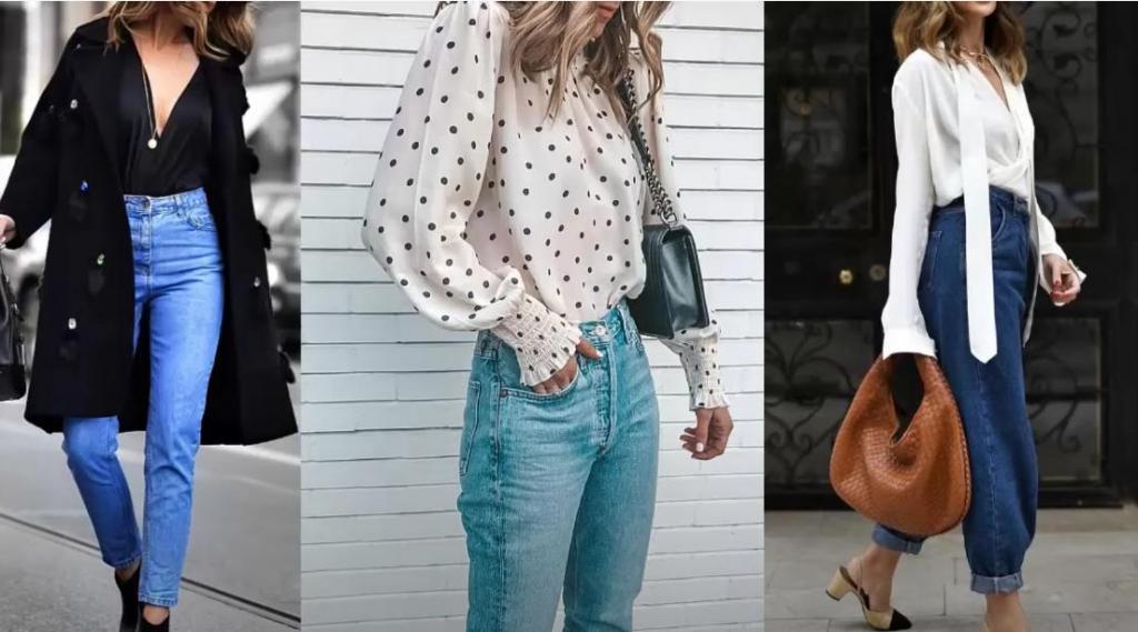 Главное - это универсальность: как дамам за 30 выбрать трендовые джинсы, с которыми можно создавать любые образы (советы и примеры)