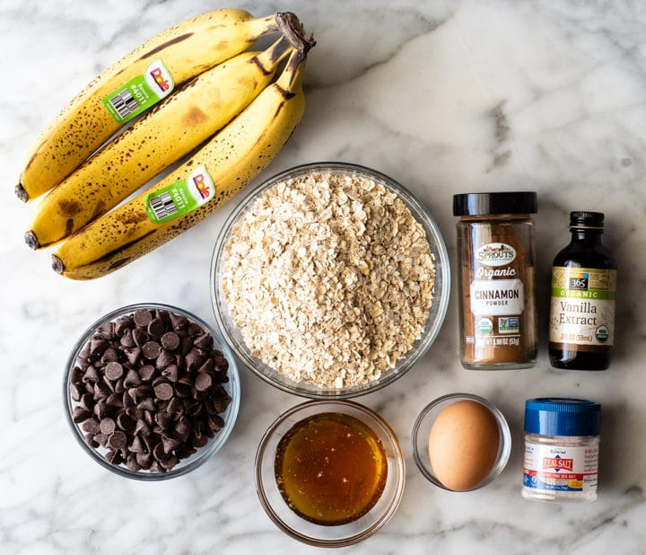 К чаю или просто на перекус: овсяно-банановое печенье за 30 минут