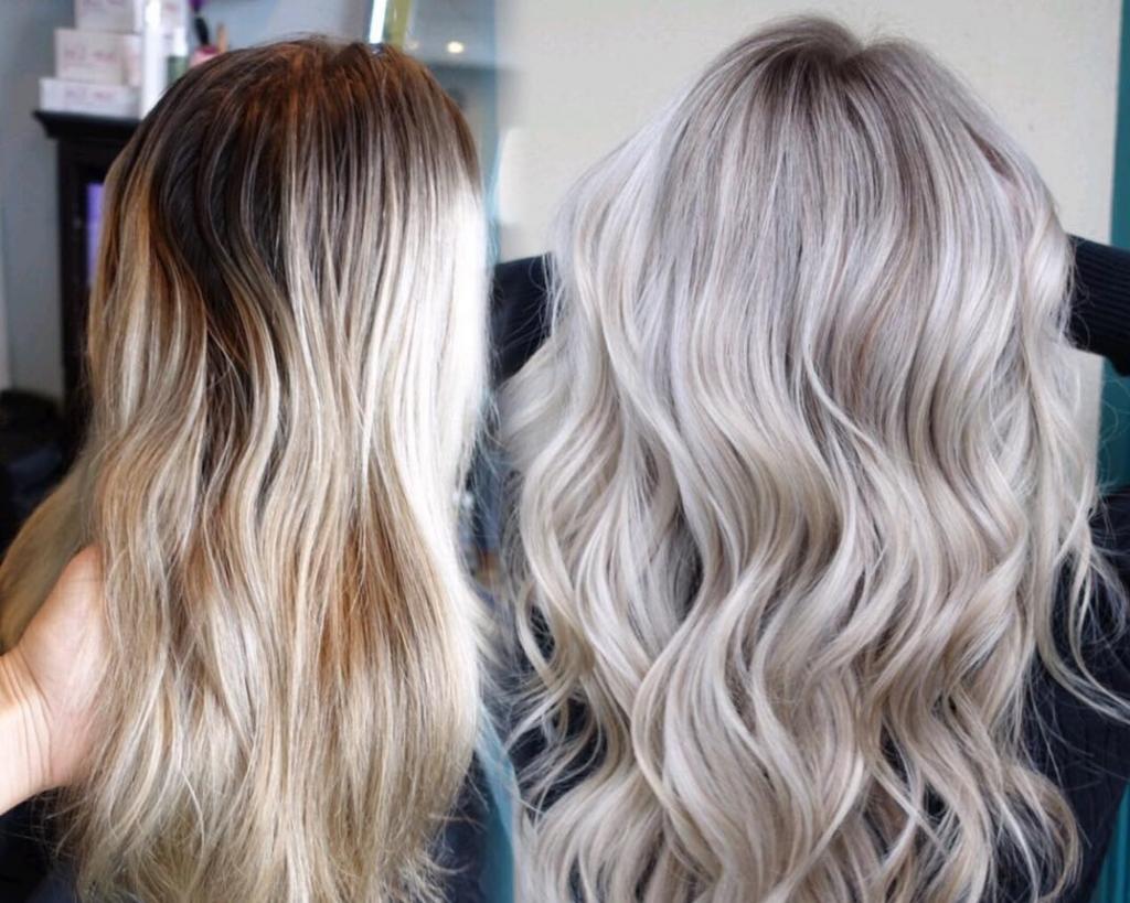 10 ультрамодных причесок для тех, кто давно хотел перекраситься в платиновый блонд: фото