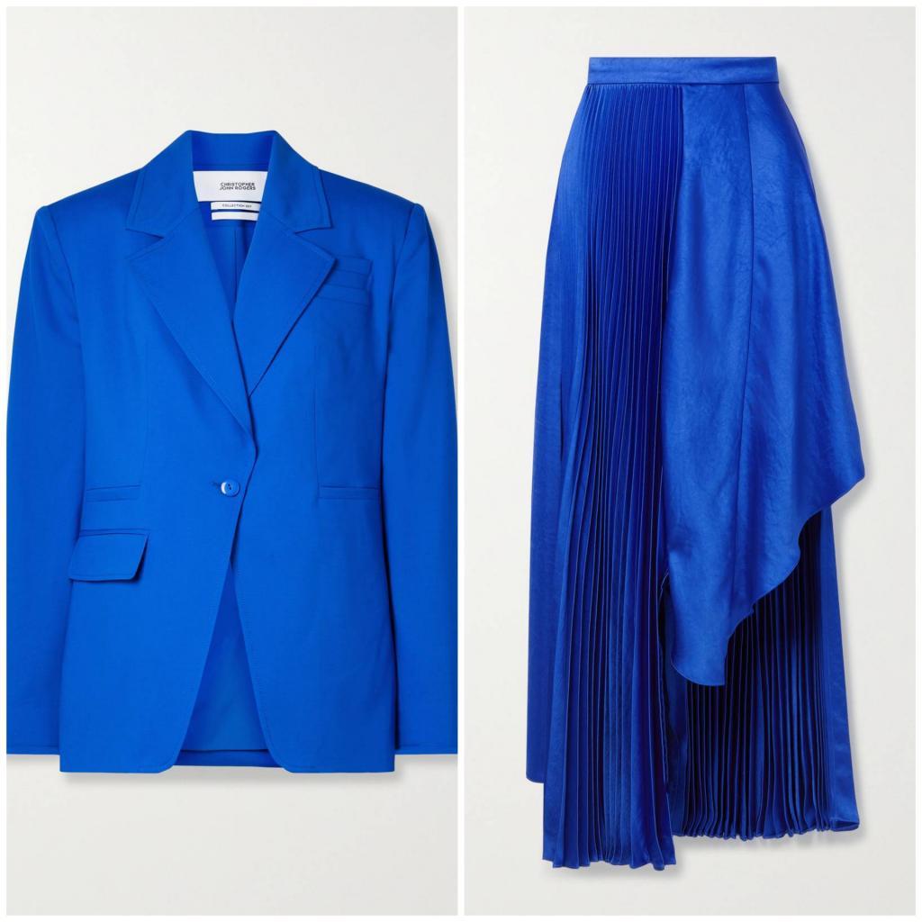 Яркие оттенки вошли в моду. Сочное лето с алым, фуксией и синим
