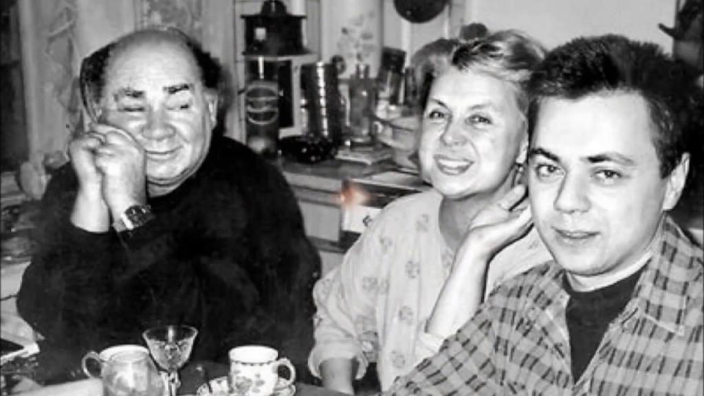 Была единственной любовью  Доцента : на 86 м году жизни скончалась вдова Евгения Леонова