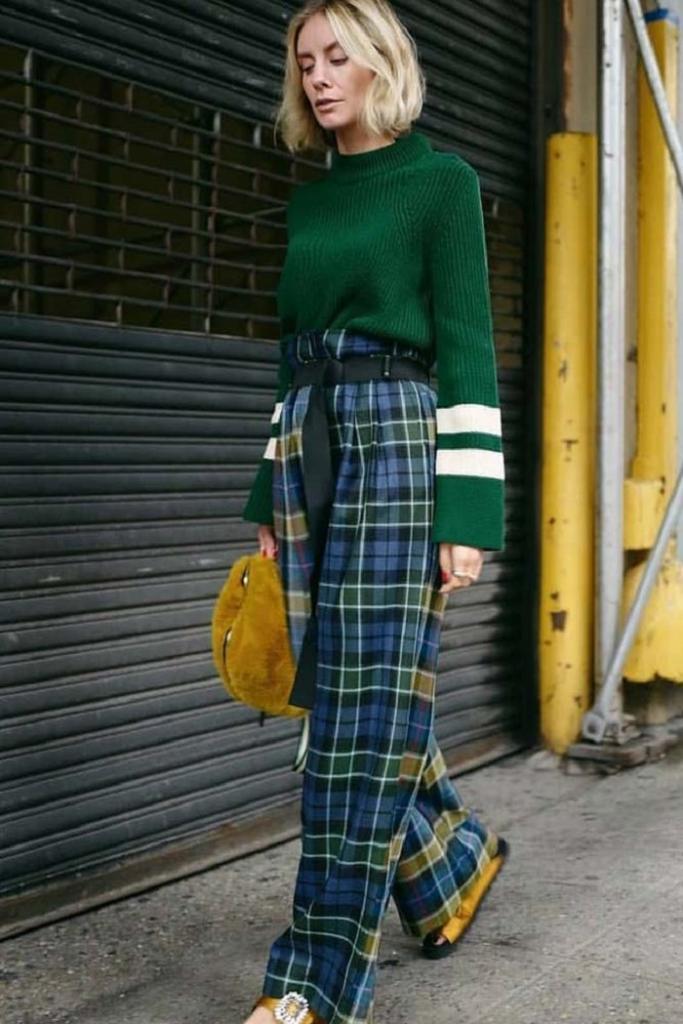 Носим брюки в клетку с тем, что уже есть в гардеробе: 9 стильных сочетаний