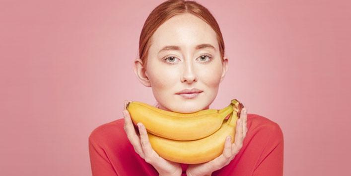 Для здоровой кожи нужно есть бананы: витамины A, С, группы B и калий возвращают молодость и красоту
