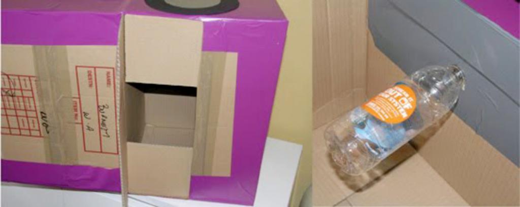 Как сделать для ребенка симпатичную игровую машину. Готовим картонные коробки и следуем инструкции