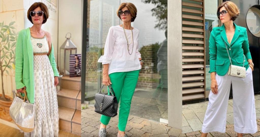 И никто не скажет, что перед ним дама зрелого возраста: советы по созданию весенне-летних аутфитов в стиле стритстайл для женщин старше 50