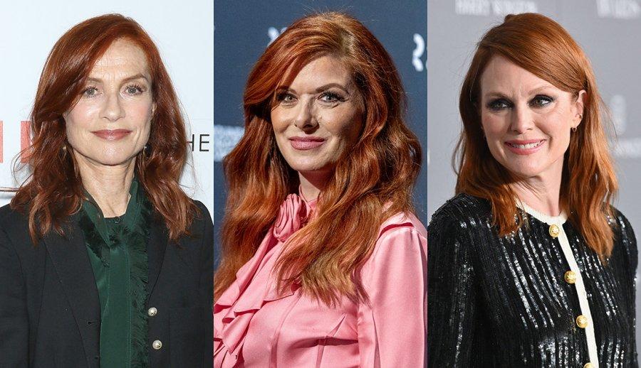 Брюнетка или рыженькая: на какие оттенки стоит обратить внимание женщинам постарше