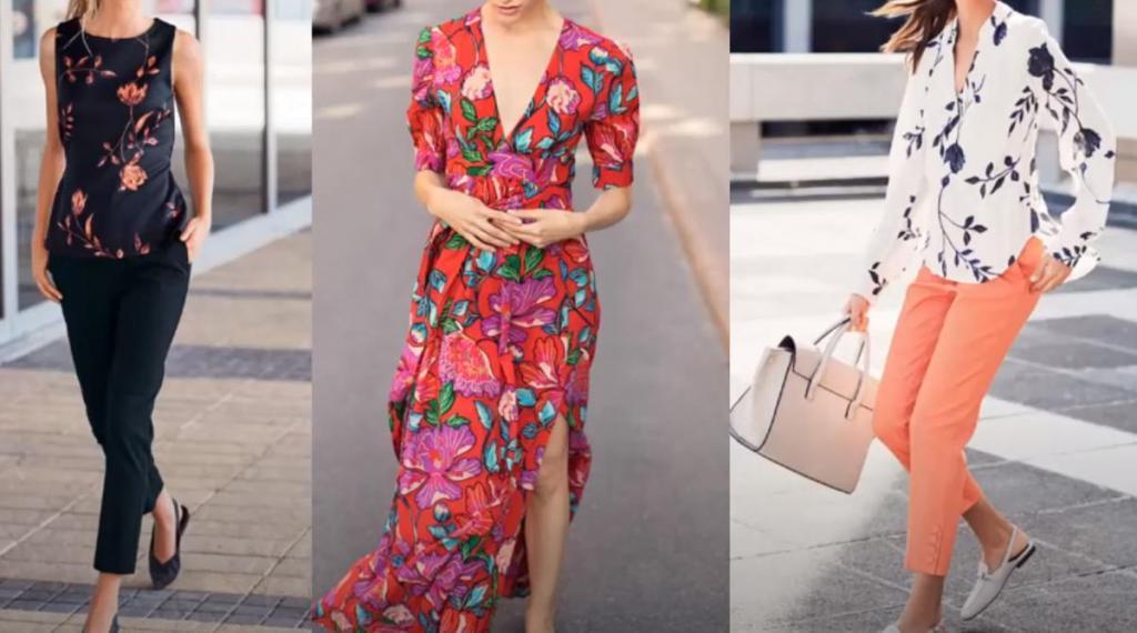 Он красуется на всех предметах гардероба: как вписать в свой летний образ стильные вещи с цветочным принтом