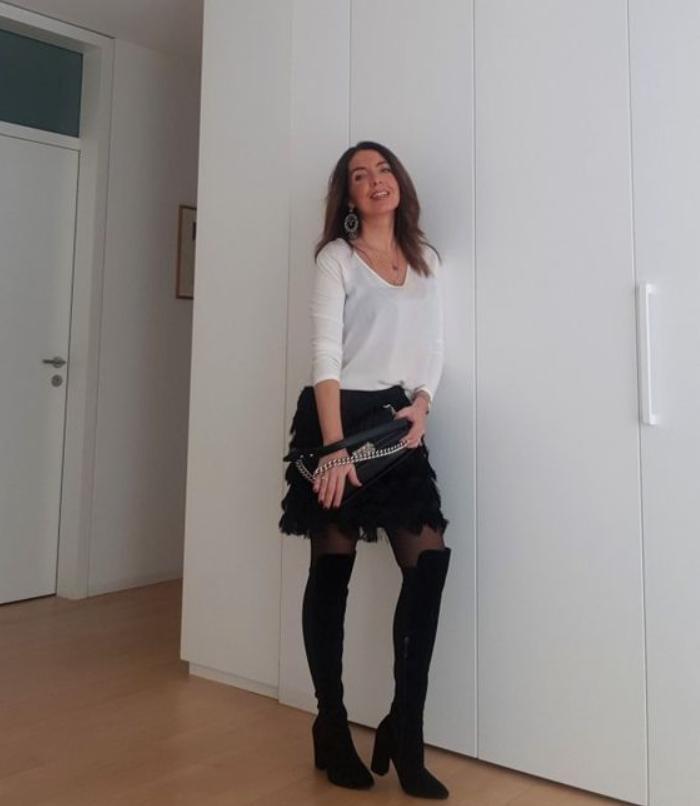 Модные цвета, принты и открытая одежда: как носить популярные тренды тем, кому за 40 (следуем простым правилам)